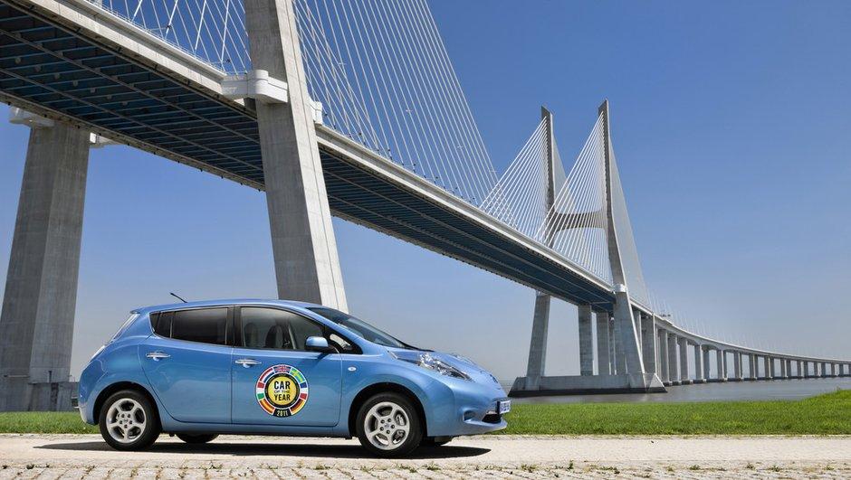 La Nissan Leaf élue Voiture Mondiale de l'année 2011