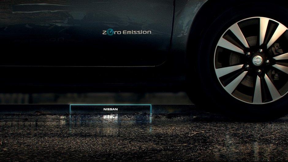 Nissan présentera un système de recharge par induction en mars 2016