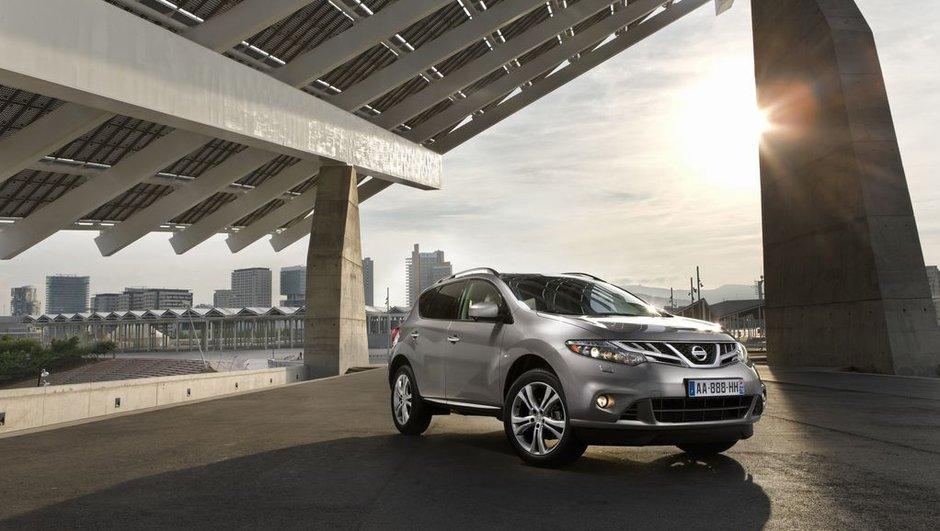 Nouveau Nissan Murano : diesel et restylage pour 2010