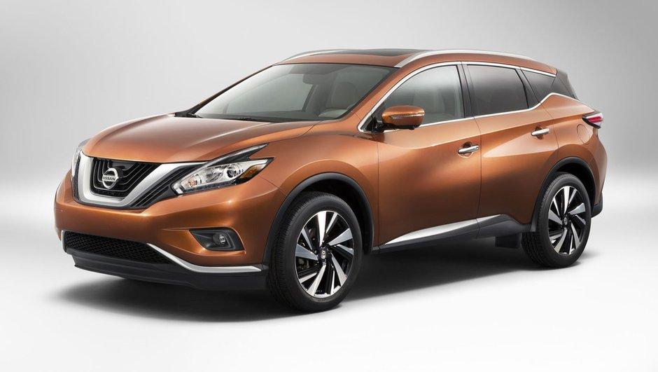 Nouveau Nissan Murano 2014 : le grand crossover au design assumé