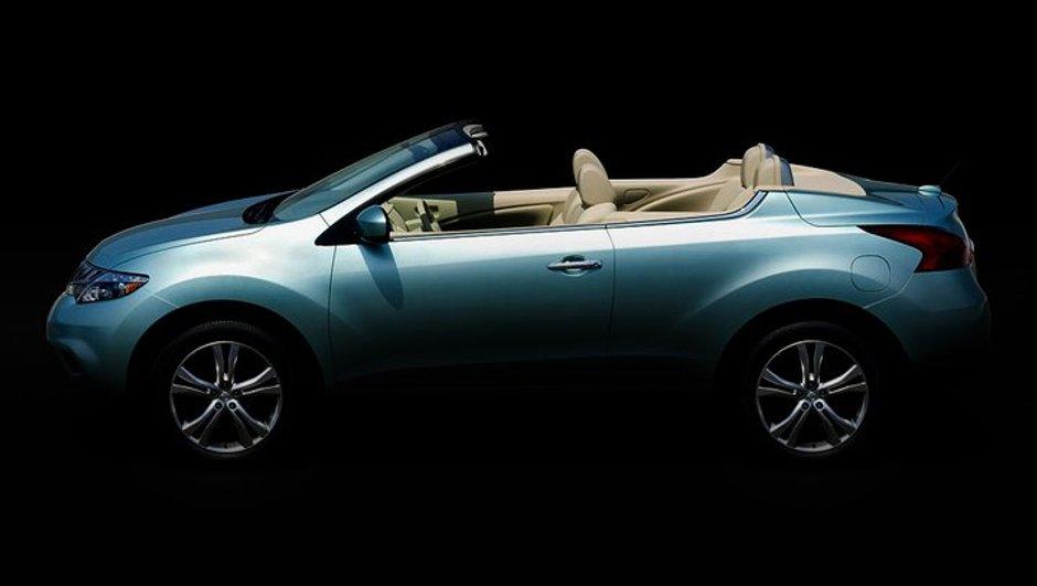 Le Nissan Murano se dévoile en version cabriolet