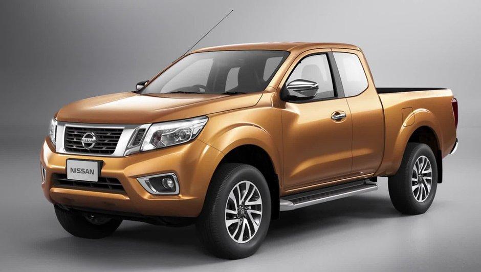 Nouveau Nissan Navara 2014 : photos et vidéo du pick-up