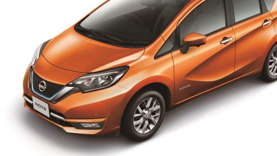 Nissan Note e-Power 2017 : un système électrique à prolongateur d'autonomie