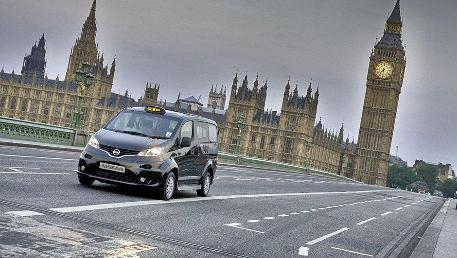 Nissan NV200 : le futur taxi de Londres révélé pour les JO !