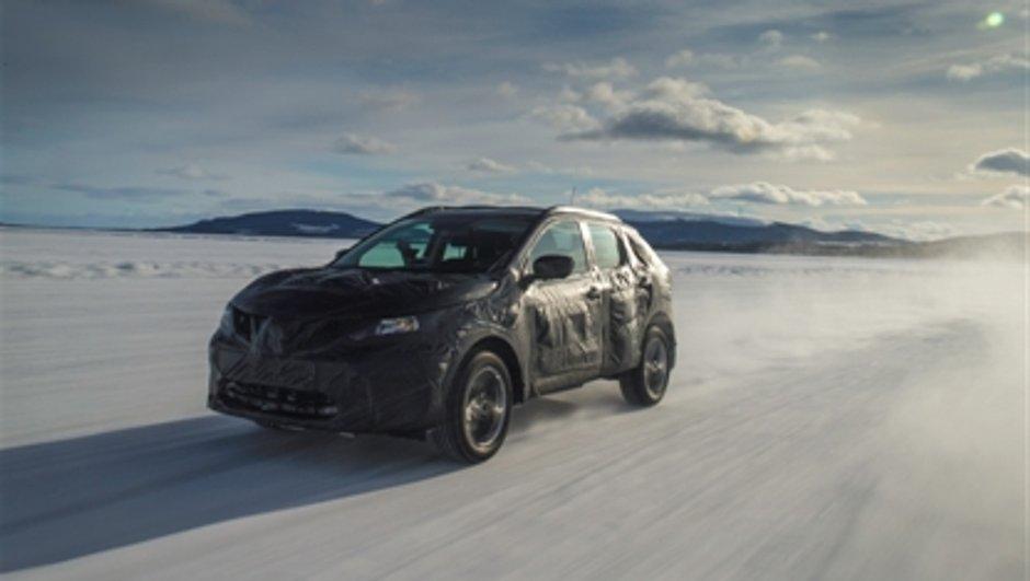 Nissan Qashqai 2014 : Le nouveau crossover un peu plus dévoilé