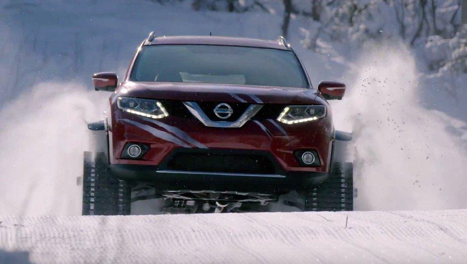 Nissan Rogue Warrior Concept, le crossover paré pour le ski !