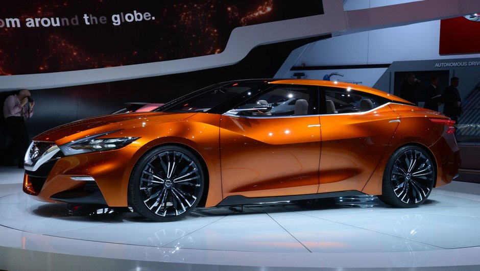 Salon de Detroit 2014 : Nissan Sport Sedan Concept, la future berline Maxima