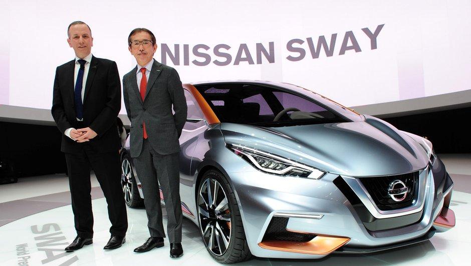 Salon de Genève 2015 : Nissan Sway Concept, la nouvelle Micra se prépare