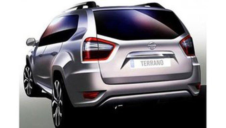Nissan Terrano : présentation prévue le 20 août