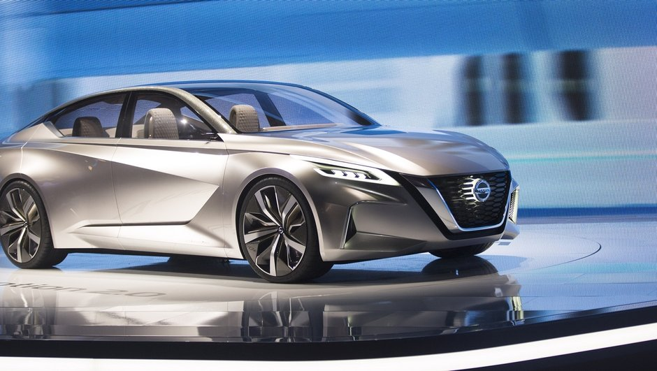 Salon de Detroit 2017 : Vmotion 2.0, la berline du futur selon Nissan