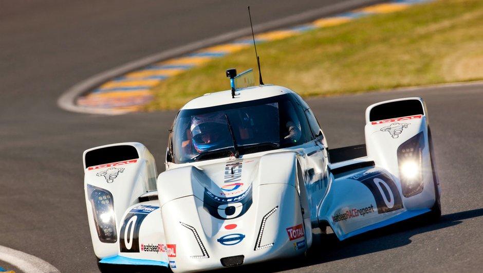 24 Heures du Mans 2014 : Nissan ZEOD, sans rétros et 300 km/h en électrique !