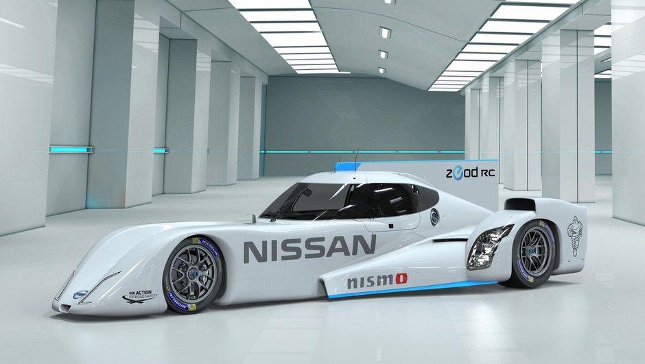 Voici la curieuse Nissan ZEOD RC des 24H du Mans 2014