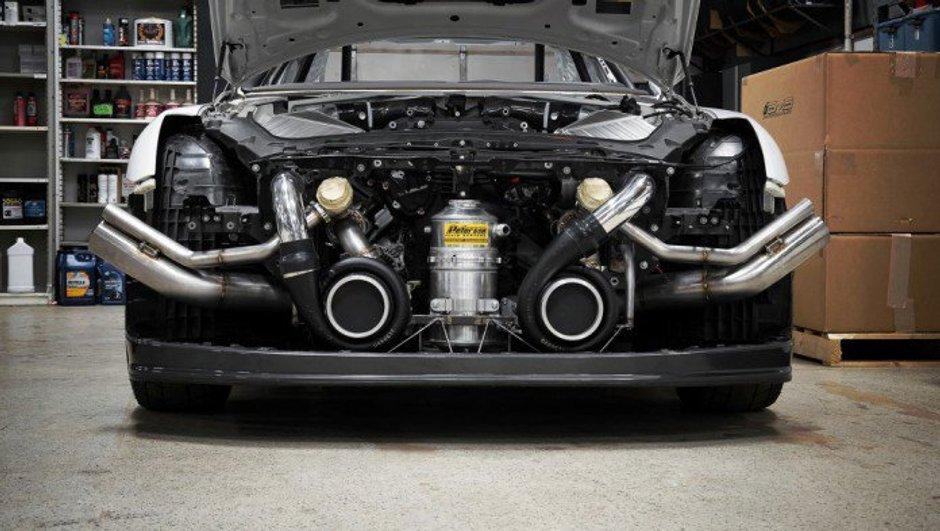 Tuning: une Nissan GT-R de 2.500 chevaux par AMS