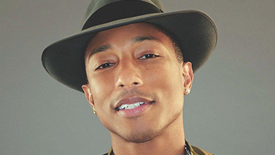 """Pharrell Williams, nommé dans la catégorie """"Artiste Masculin International de l'année"""" aux NRJ Music Awards 2014"""