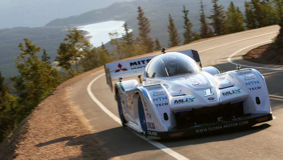 Pikes Peak 2012 : Tajima vise le sommet en électrique