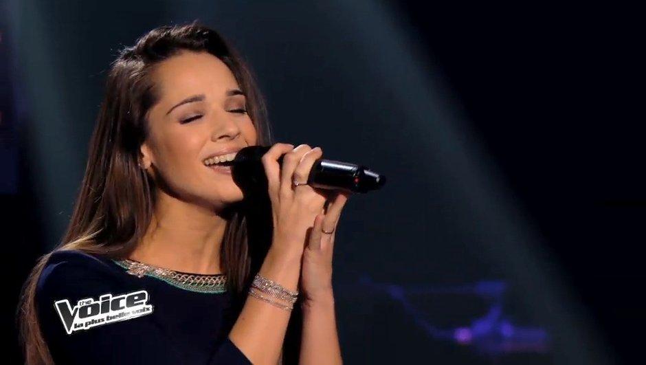 """The  Voice 3 : Garou a fait graou pour Noémie Garcia sur """"Roar"""""""