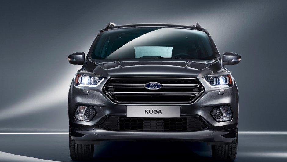 Ford Kuga 2016 : un restylage en muscles avant le Salon de Genève