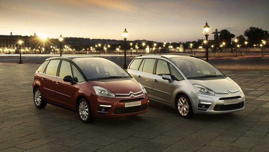 Restylage en douceur pour le Citroën C4 Picasso