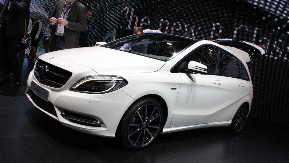 Salon de Francfort 2011 : Nouvelle Mercedes Classe B
