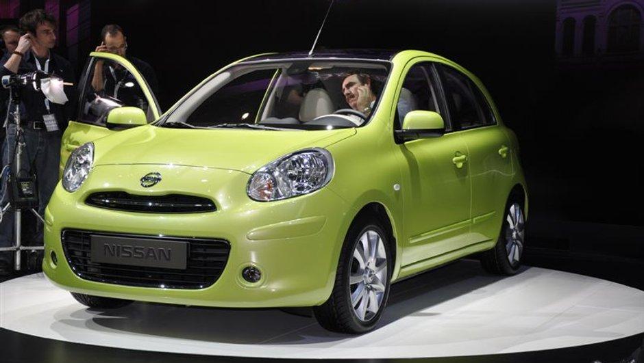 Salon de Genève 2010 : Nissan Micra IV