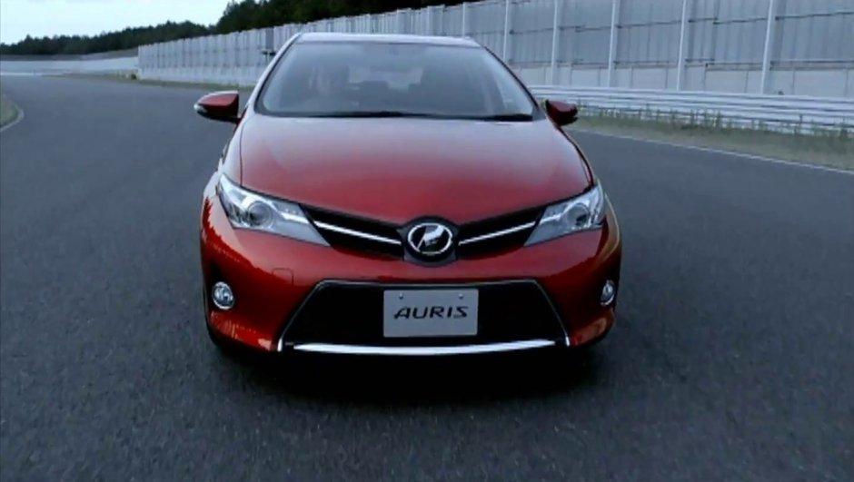 La nouvelle Toyota Auris 2012 en vidéo