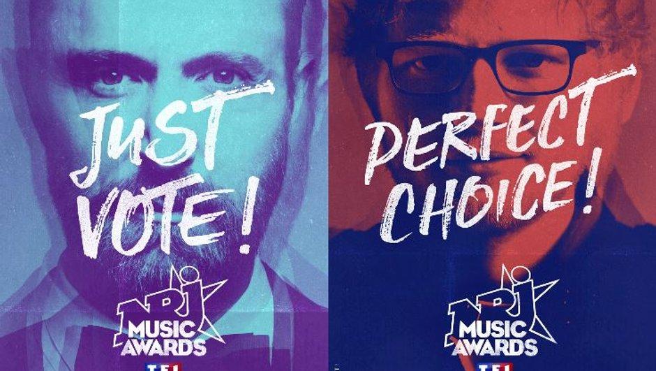 NRJ Music Awards : découvrez les nommés pour le clip, le DJ et la chanson internationale de l'année