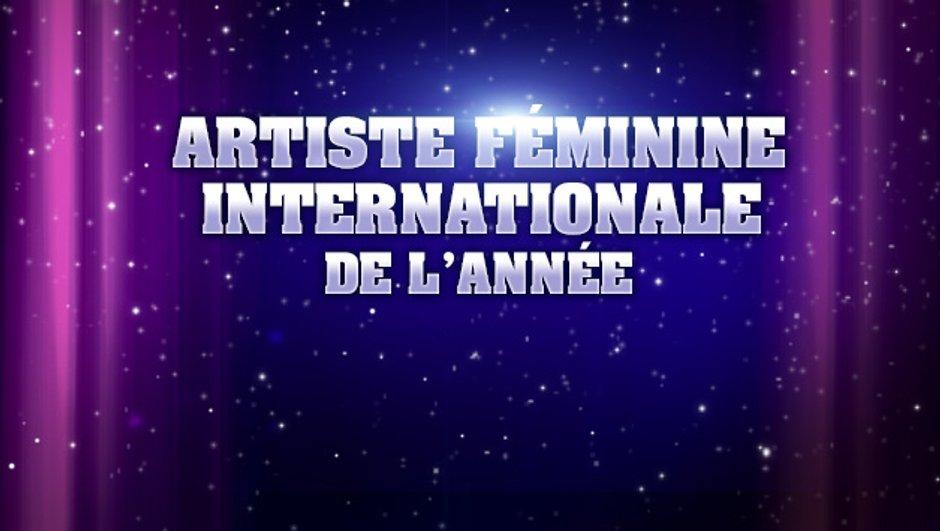 NRJ Music Awards : sont pré-nommées pour l'Artiste féminine internationale de l'année...