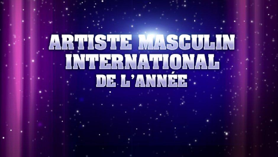 NRJ Music Awards : sont pré-nommés pour l'Artiste masculin international de l'année...