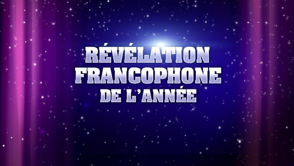 NRJ Music Awards : sont pré-nommés pour la Révélation francophone de l'année...