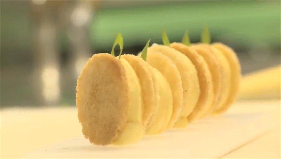 Recette de cuisine : comment faire les oeufs mimosa d'Amandine Chaignot ?