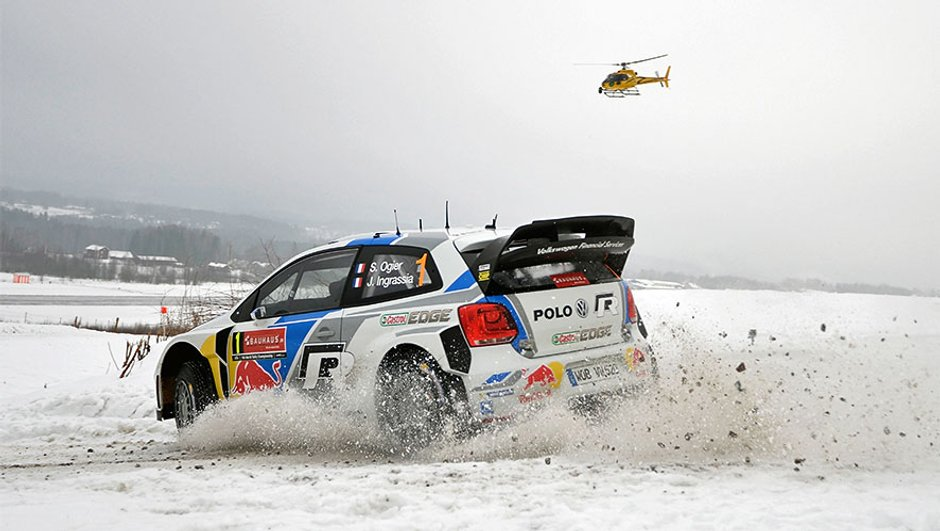 WRC 2014 - Rallye de Suède : Après la deuxième journée, Ogier est leader