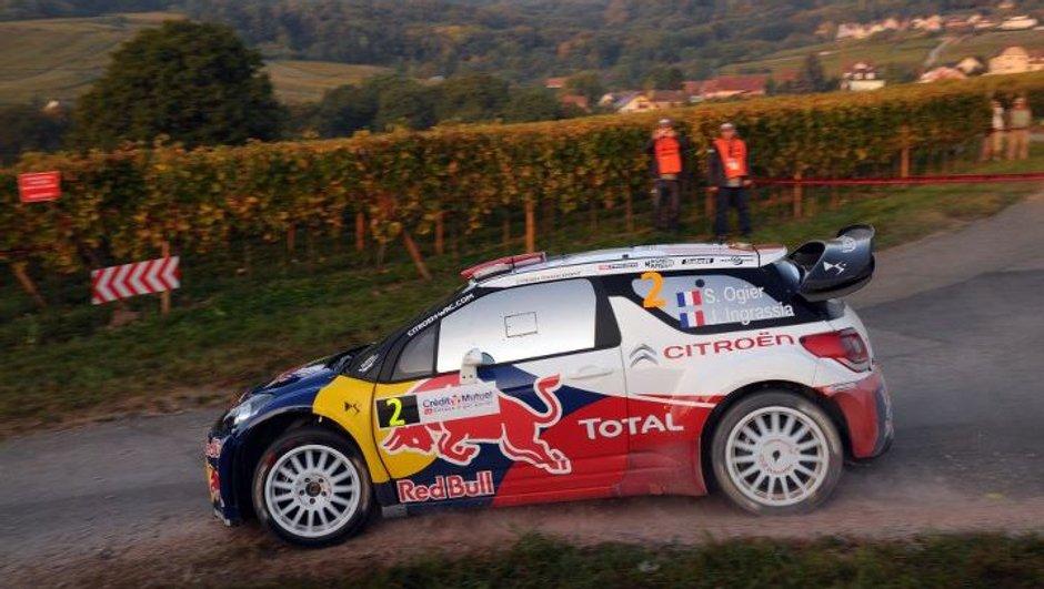 WRC Rallye de France-Alsace 2011 - Jour 2 : Ogier leader