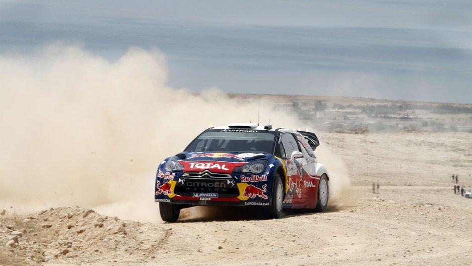 WRC Rallye de Jordanie, 1er jour : Ogier leader à 18 secondes