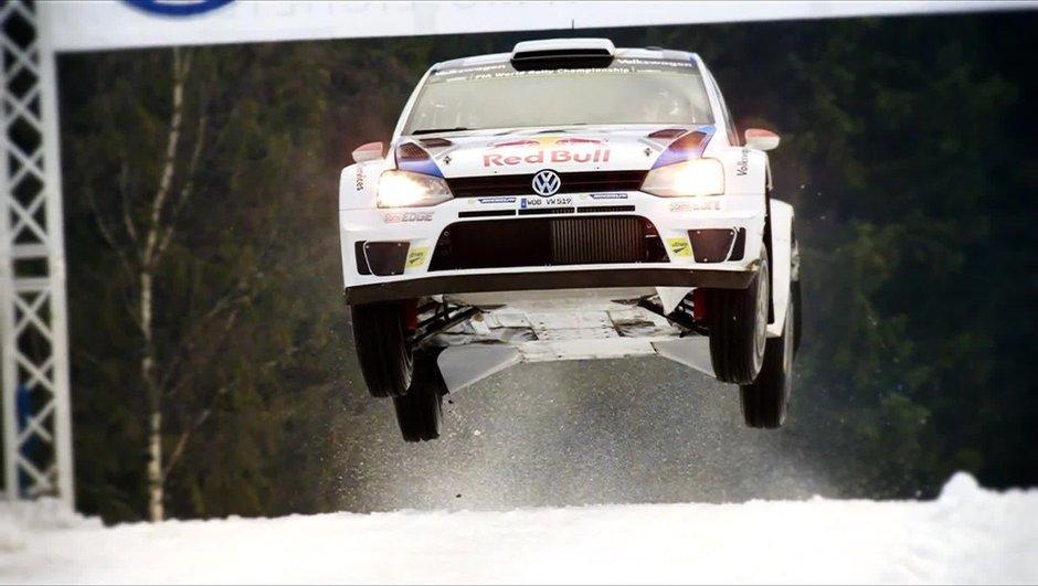 Insolite : Ogier effectue un saut record de 41 mètres au Rallye de Suède 2014