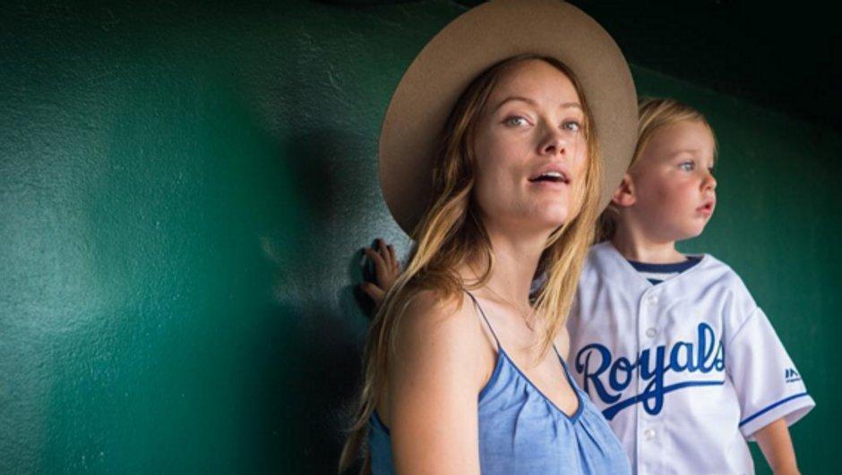 Olivia Wilde profite de son fils !