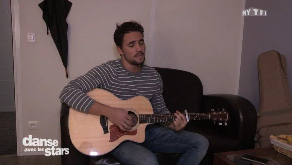 Olivier Dion : Guitare à la main, il  va vous donner des frissons