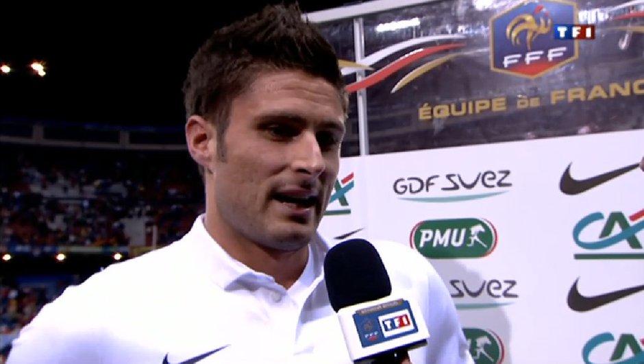 Espagne-France : Giroud voulait faire taire les critiques