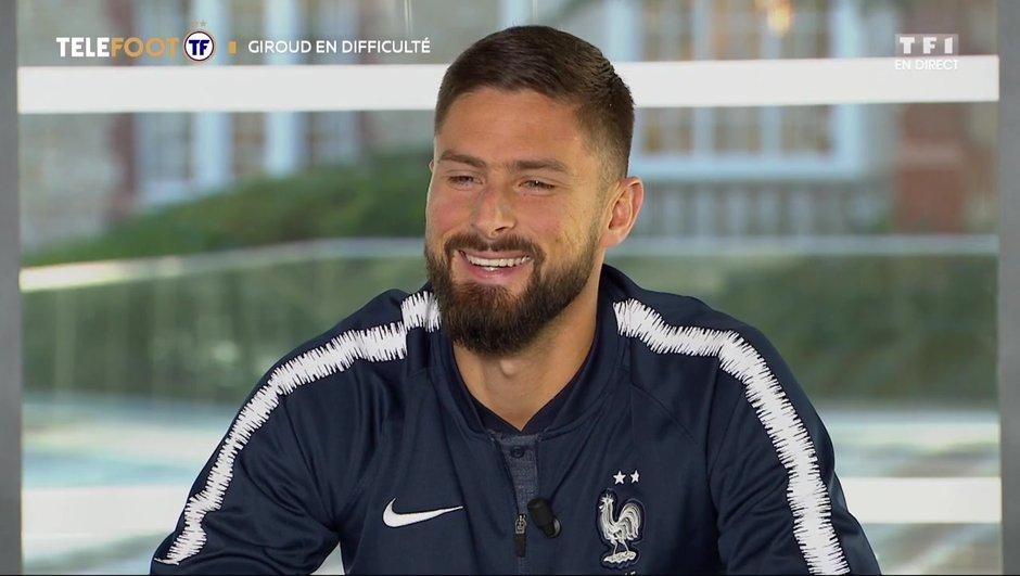 """[EXCLU Téléfoot – 18/11] - Giroud sur sa situation à Chelsea : """"Ne comptez pas sur moi pour baisser les bras"""""""