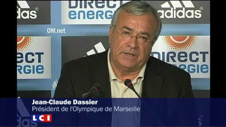 """Jean-Claude Dassier : """"ça va aller mieux"""" à l'OM"""