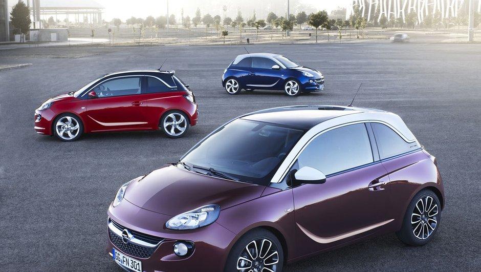Nouvelle Opel Adam : toutes les photos, infos et vidéo