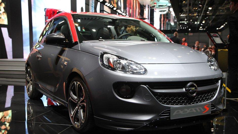 Mondial de l'Automobile 2014 : Opel Adam S, la nouvelle petite citadine survitaminée