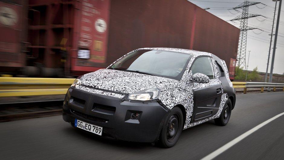 Opel Adam : le nom officiellement confirmé