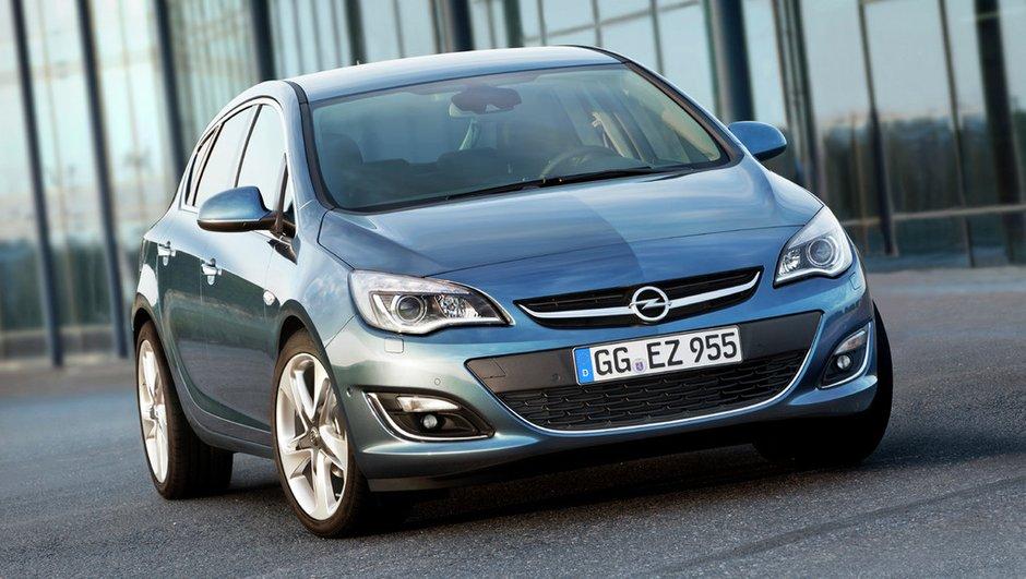 Opel : l'Astra se fait une beauté !