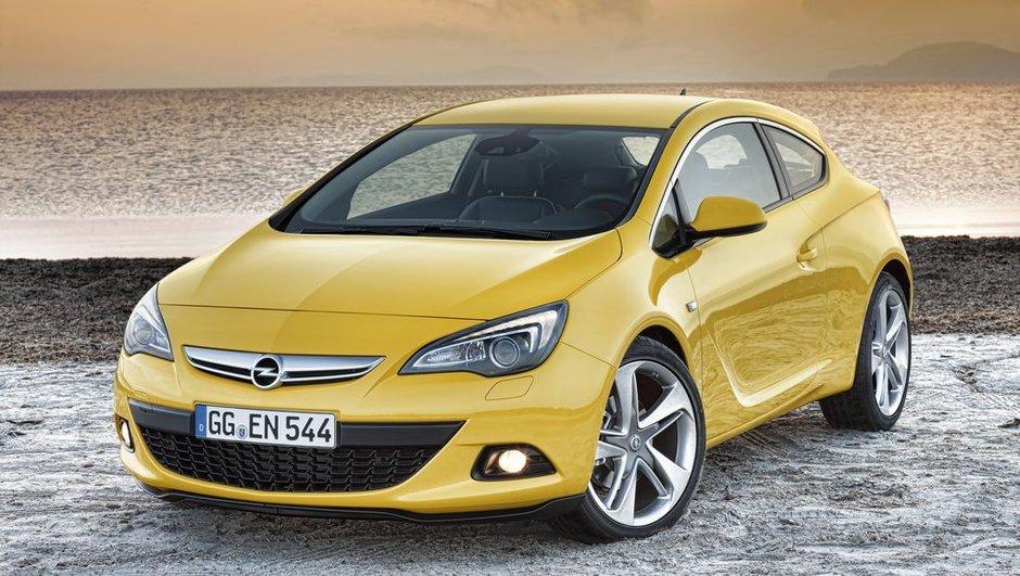 Nouvelle Opel Astra GTC : florilège de photos