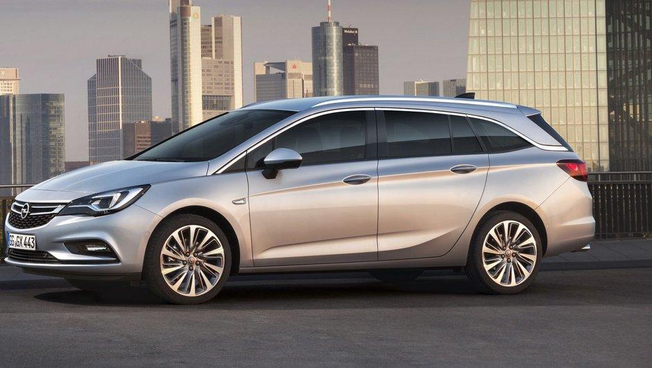Opel Astra Sports Tourer 2016 : moins de poids mais plus de coffre