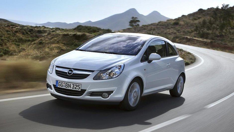 Opel Corsa et Agila : le start-stop débarque sur les citadines au blitz