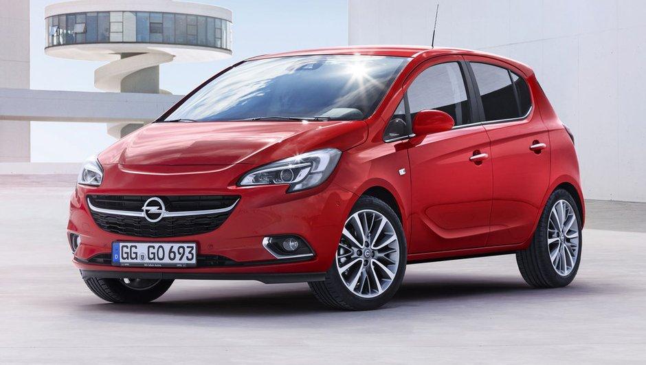 Nouvelle Opel Corsa 2014 : tous les prix à partir de 11.990 euros