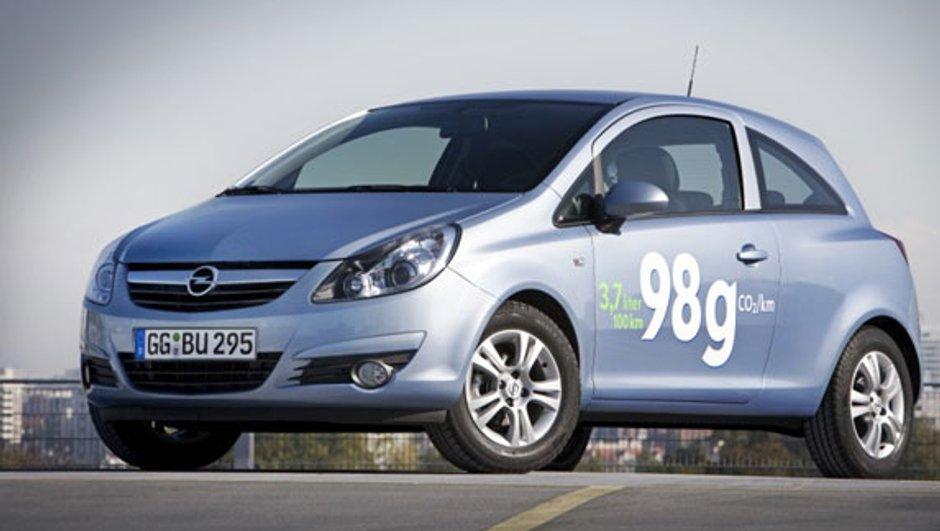 Opel Corsa ecoFLEX : sortie début d'année prochaine