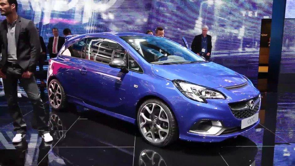 Salon de Genève 2015 : Opel Corsa OPC, la bombinette allemande survitaminée (+ vidéo)
