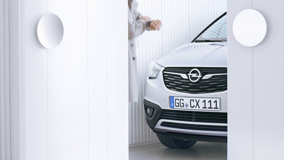 Futur Opel Crossland X 2017 : 2ème photo teaser